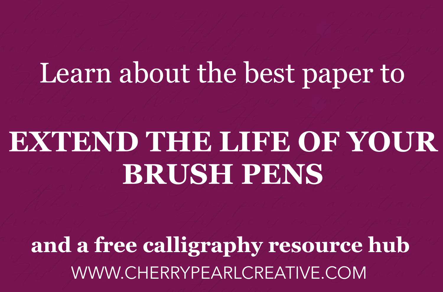 best paper for brush calligraphy
