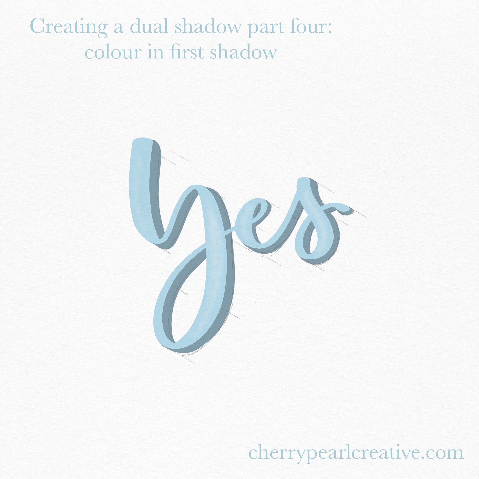 Adding Shadows To Your Hand Lettering