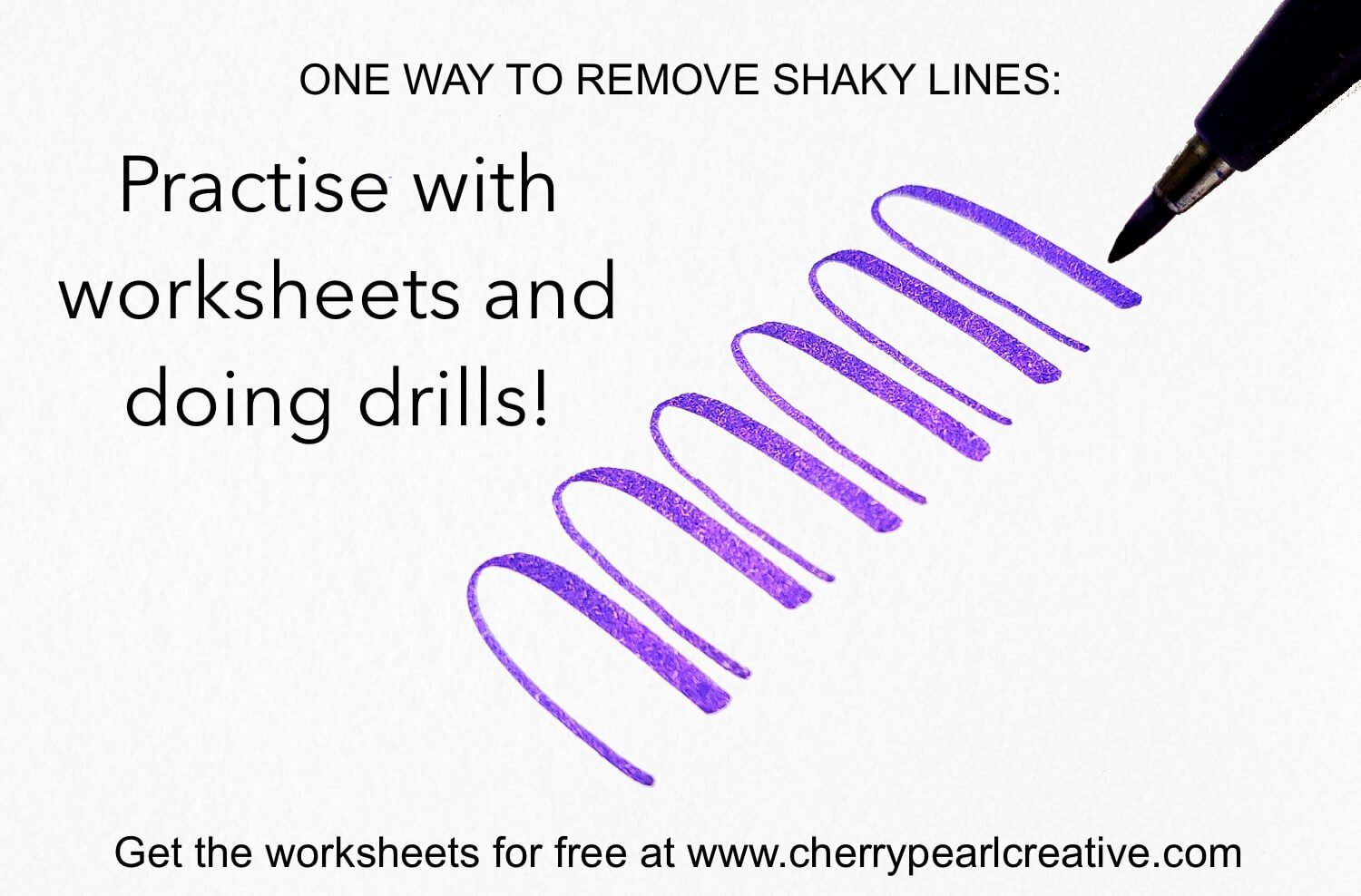 5 Ways To Improve Shaky Lines While Lettering