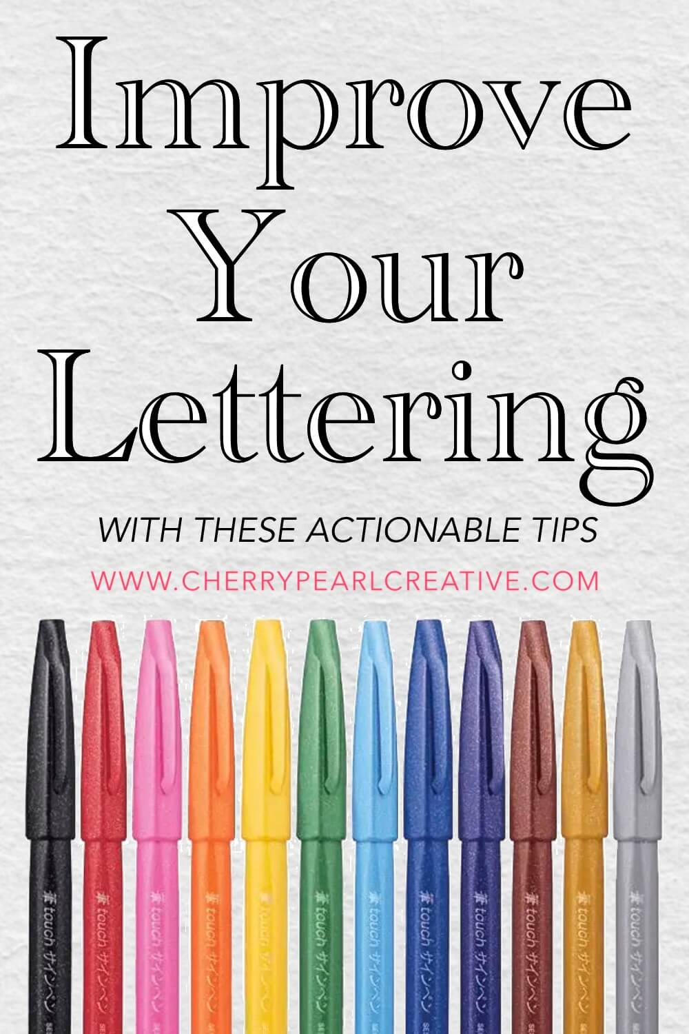 Improve Your Lettering