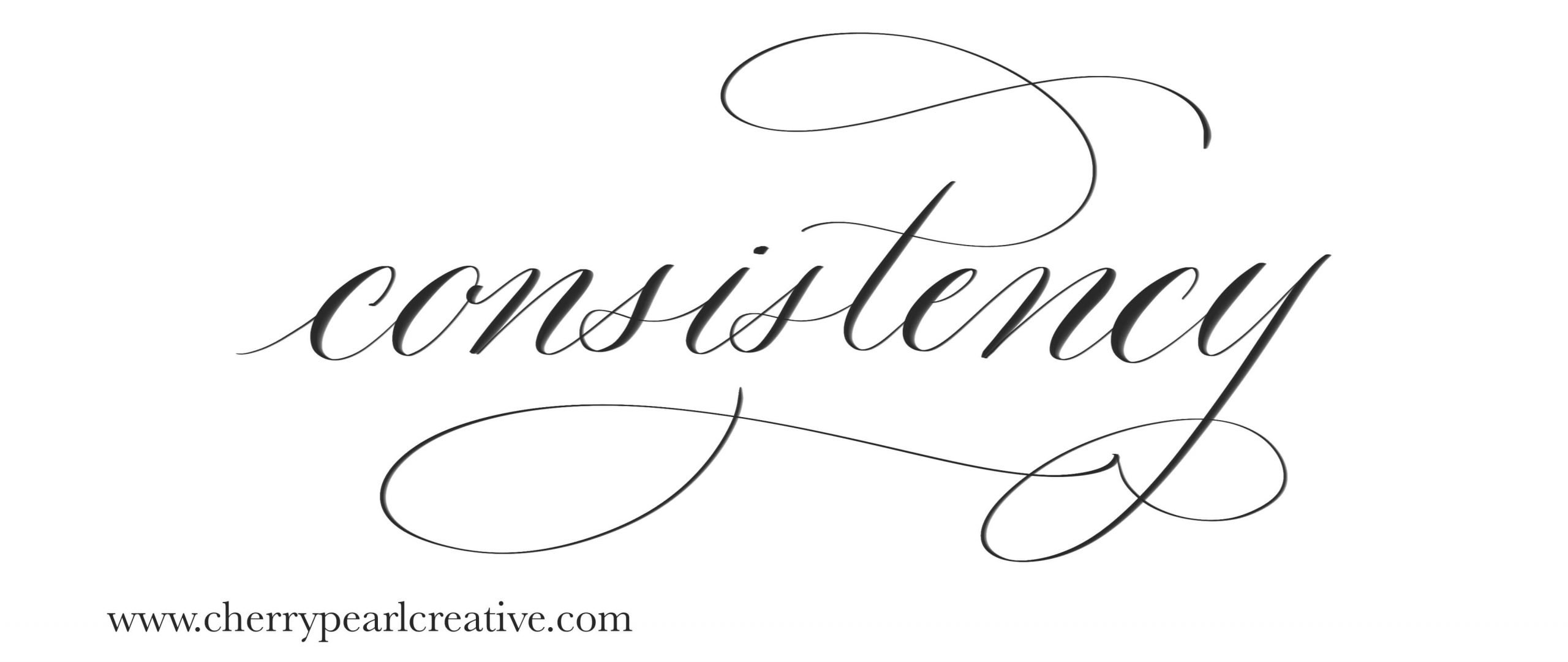 Increase the consistency in your calligraphy.