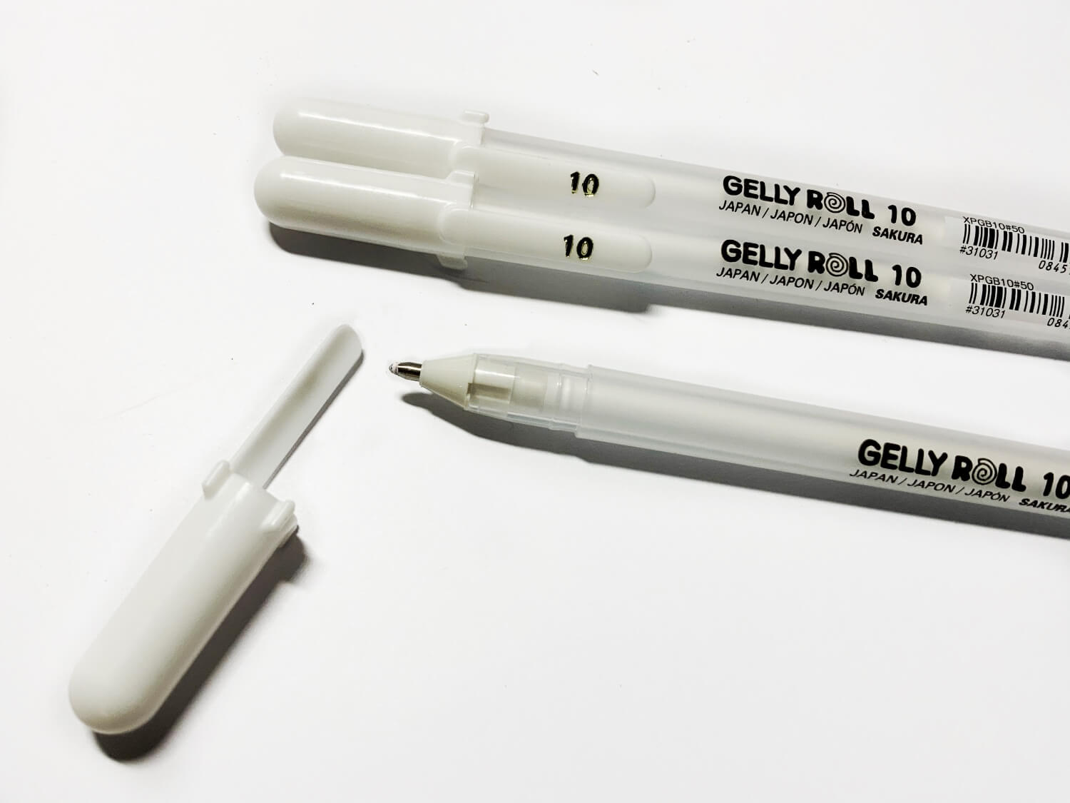 Gelly Roll Pens White for Lettering Highlights