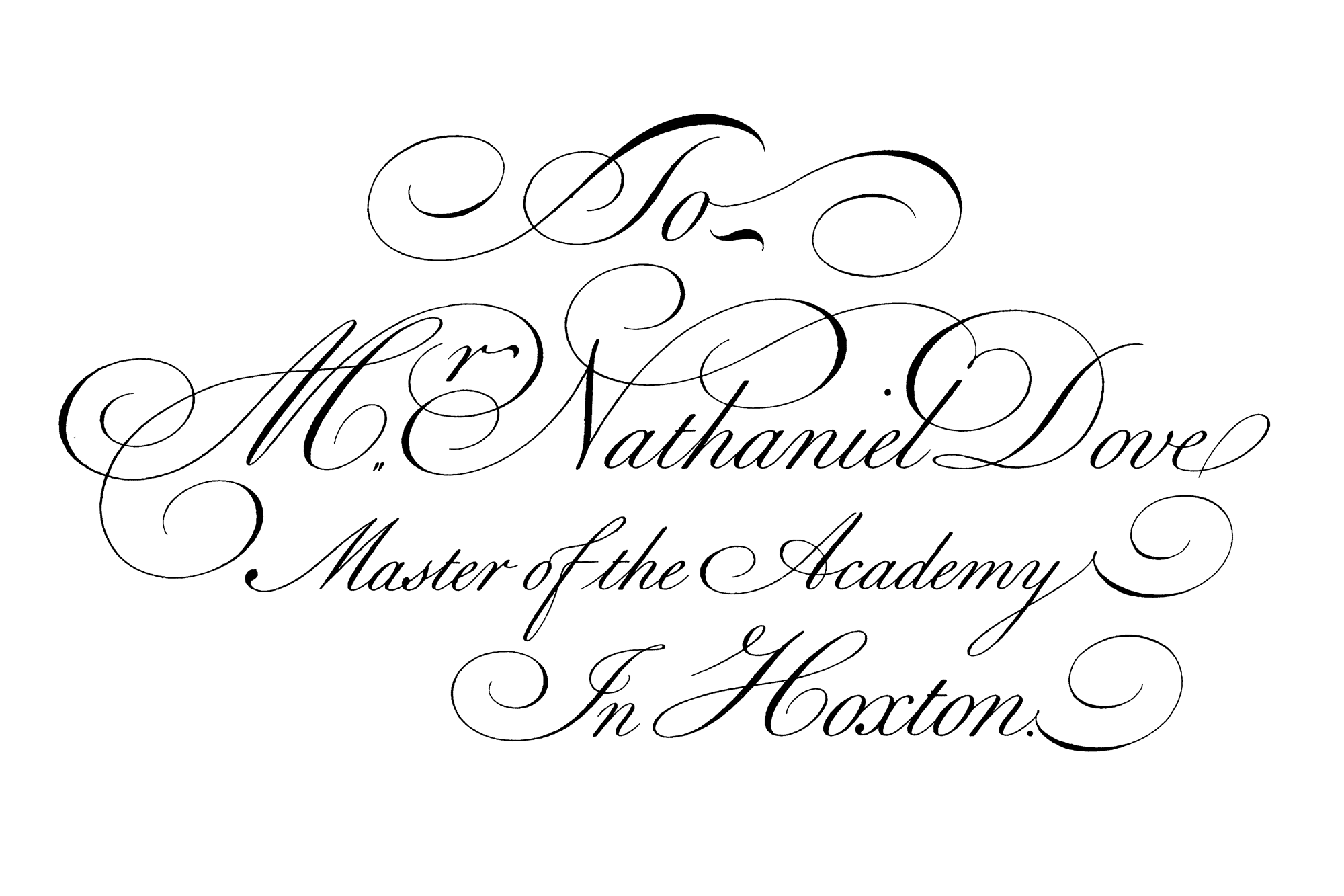 Copperplate Calligraphy Script by Bickhan