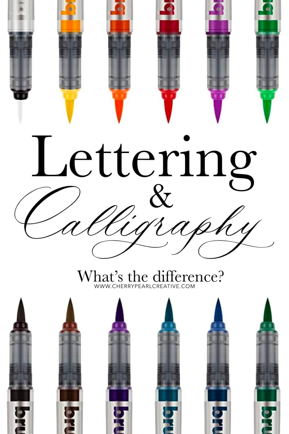 Lettering & Calligraphy What's The Difference