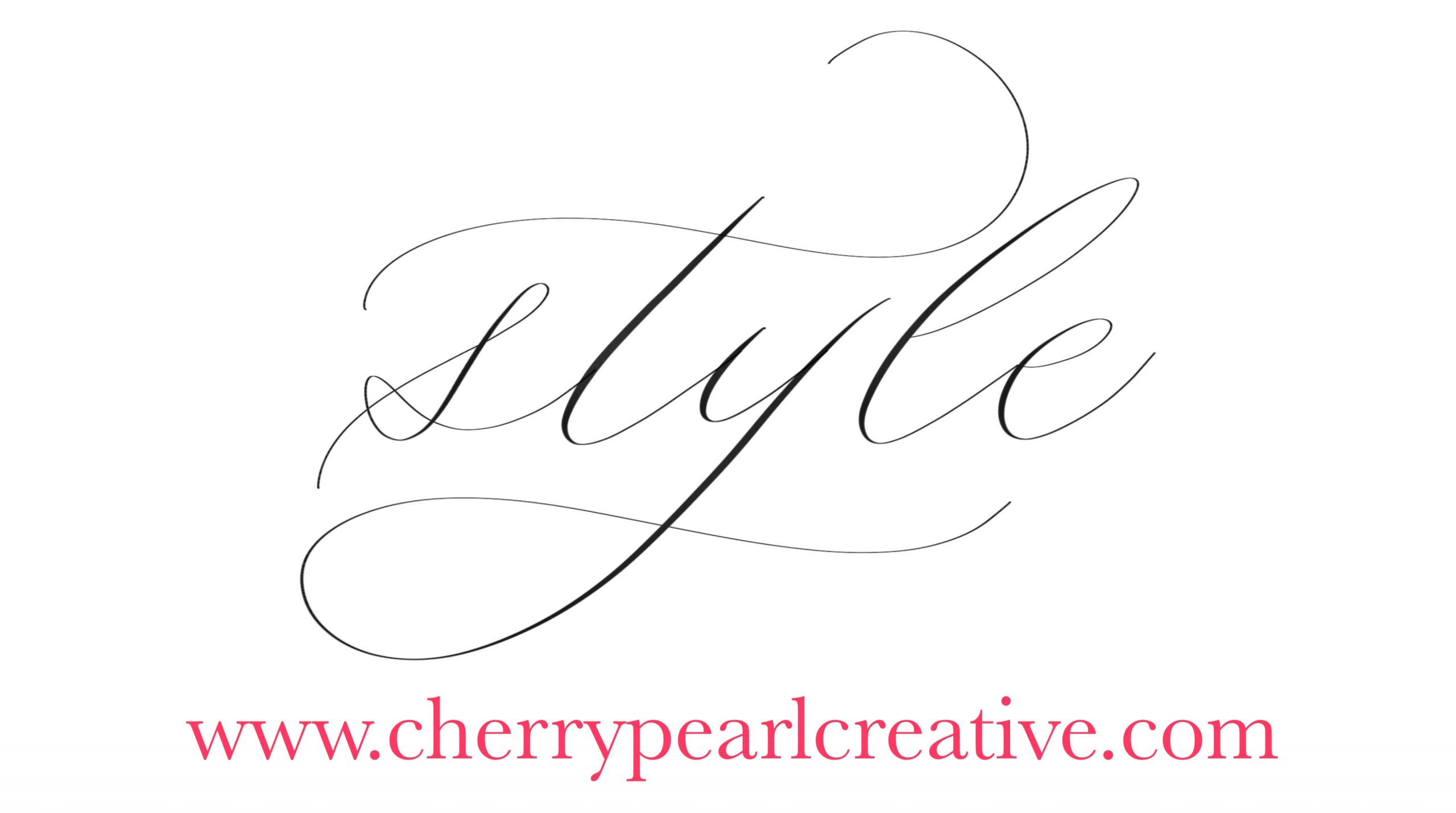 Learn Your Calligraphy Style Dainty